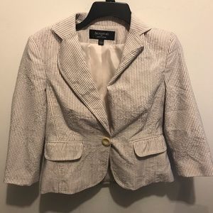 Larry Lavine Striped Blazer